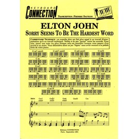 partition elton john sorry seems to be the hardest word