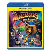 Madagascar 3 : Bons Baisers D'europe - Combo Blu-Ray3d + Blu-Ray+ Dvd + Copie Digitale de Eric Darnell