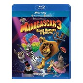 Madagascar 3 : Bons Baisers D'europe - Combo Blu-Ray+ Dvd de Eric Darnell