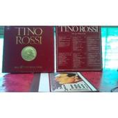 Coffret Tino Rossi Et Ses 40 Titres D'or (3 Vinyles Et Biographie)