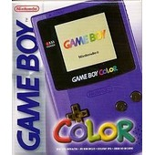 Game Boy Pocket Color Violet