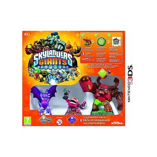 Skylanders Giants Pack de d�marrage 3DS - Nintendo 3DS