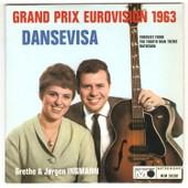 Dansevisa - Eurovision 1963 - Ingmann Grethe Et Jorgen - Metronome 30501 ( 45 Tours Ep Longue Dur�e ) - Ingmann Grethe Et Jorgen