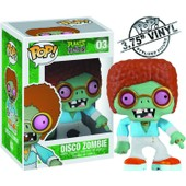 Plants Vs Zombie - Figurine Pop Du Disco Zombie (10cm)
