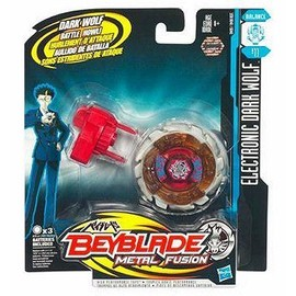 Toupie �lectronique - Beyblade Metal Fusion : Dark Wolf