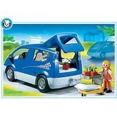 Playmobil 4483 - Cliente, Monospace Et Fleurs