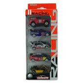 Voitures En M�tal - Collection Racing : Lot De 5 Coffret 1