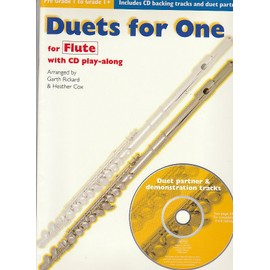 duets for one for flute avec CD