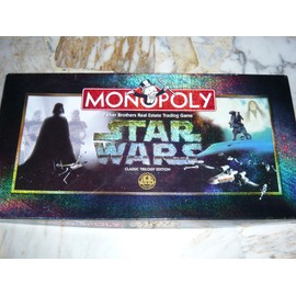 Monopoly Stars Wars Classic Trilogy Edition Limited
