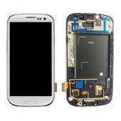 Ecran Lcd + Tactile Blanc Pour Samsung I9300 Galaxy S3