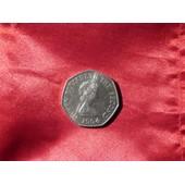 Pi�ce De Monnaie De Jersey 50 Pence (Nickel)