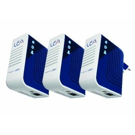 Lea Trio Plug Adaptateur Cpl 200 Mbps