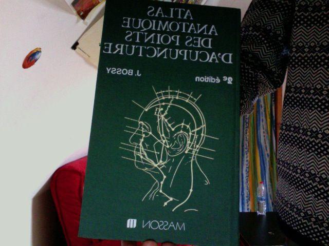 Atlas anatomique des points d'acupuncture