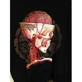 Cannibal Corpse t-shirt de tournée