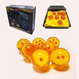 Dragon Ball Z Figurine Jouet Manga -7 Boules De Cristal Orange Coffret Collection
