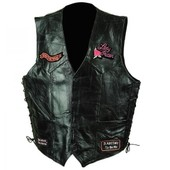 Gilet Cuir Love To Ride