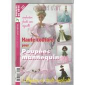 Crochet D'art Hors-S�rie N� 17 : Haute Couture Pour Poup�e Mannequin