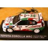 Toyota Corolla Wrc #3 Australia Rally 1999 1/43 Sainz Moya Castrol Movistar