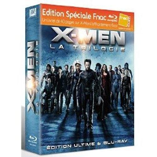 X-Men - Coffret de la Trilogie - Blu-Ray - Edition - Inclus le Livret de 40 pages - Blu Ray