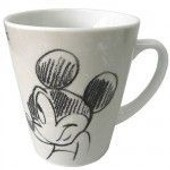 Mug Conique Mickey Beige