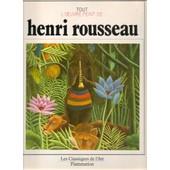 Henri Rousseau de rousseau