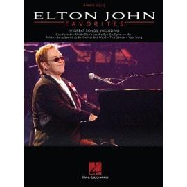 Elton John: Favorites Piano Solo