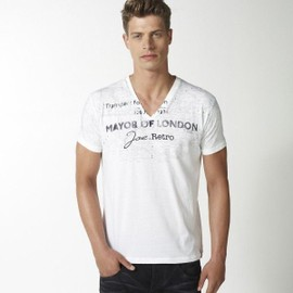 T-Shirt Joe Retro Homme Manches Courtes Tarbe