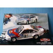 Opel Manta 400 #18 Rallye Monte Carlo 1986 Hero Grun Ixo 1/43 L'equipe Mobil
