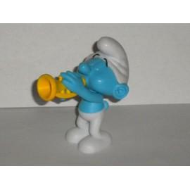 Schtroumpf Musicien Figurine Peyo. Smurf