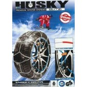 Bzch110 Cha�nes Neige 9mm Tension Automatique Husky 205/55/17