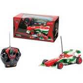 Voiture T�l�command�e Enfant Cars2 Rc Francesco 1/24 Majorette
