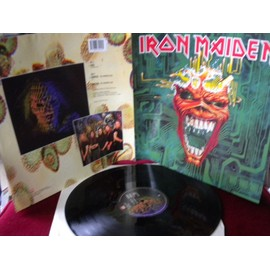 "Iron Maiden Virus Rare Uk Emi 12""maxisingle from 1996.Poster cover(Gatefold).Original"