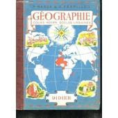Geographie Cours Moyen Classes De 8e Et 7e Des Lycees Et Colleges. Ecoles Urbaines. de Manse P Et Perpillou A.