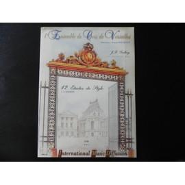 12 Etudes de Style - collection L'ensemble de Cors de Versailles
