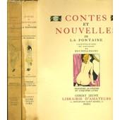 Contes Et Nouvelles 2 Tomes de LA FONTAINE
