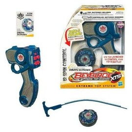 Toupie Avec Lanceur Radiocommand� - Beyblade Extreme Top System : Gravity Destroyer