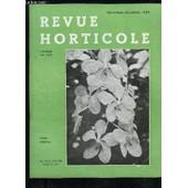 La Revue Horticole 1949 N� 2166 - Chronique Horticole Vie De La S.N.H.Fles Bougainvilliers, Par Ch. Chevalier .Le Voyage D'�tudes De La 72e Promotion De Pecole Nationale D'horticulture En ... de COLLECTIF