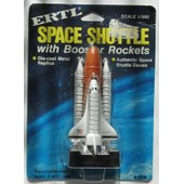 Ertl Space Shuttle With Booster Rockets R�f. 1515-70f0 1/500
