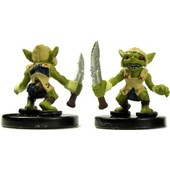 Pathfinder Miniatures - Heroes & Monsters - 3/40 - Goblin Warrior (Blue)