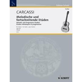 Carcassi Melodic and Progressive Studies op. 60