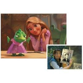 Puzzle 2 X 20 Pi�ces - Disney Raiponce : Flynn Rider Et Pascal Le Cam�l�on