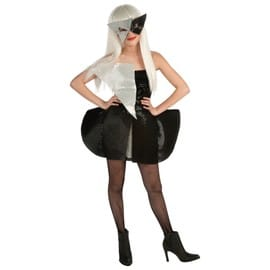 Costume Teen Robe Paillettes Lady Gaga