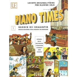 Piano Times: From Baroque to the Romantics with Cartoons