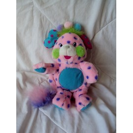 Peluche Popples Rose A Pois