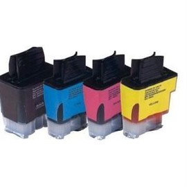 Cdiscount - Pack De 4 - Noir, Jaune, Cyan, Magenta - Cartouche D'encre (�quivalent � : Brother Lc900bk, Brother Lc900c, Brother Lc900m, Brother Lc900y ) - Pour Brother Dcp-115, 117, 120, 315...