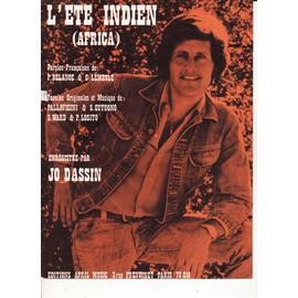 """Joe DASSIN """"L'Eté indien"""""""