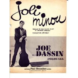 """Joe DASSIN """"Joli Minou"""""""