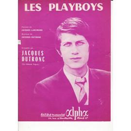 """Jacques DUTRONC """"Les Playboys"""""""