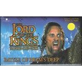 Display / Boite De 36 Boosters Lord Of The Rings Bataille Gouffre Du Helm
