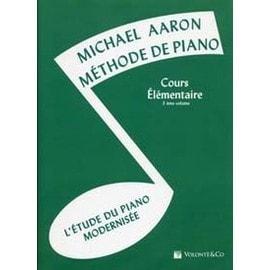 AARON METHODE DE PIANO VOL. 3 COURS ELEMENTAIRE